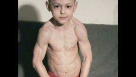 Il bimbo più muscoloso del mondo