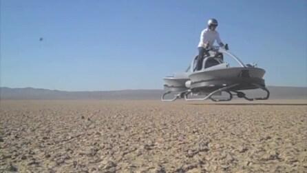 Aerofex, la moto che fluttua nell'aria