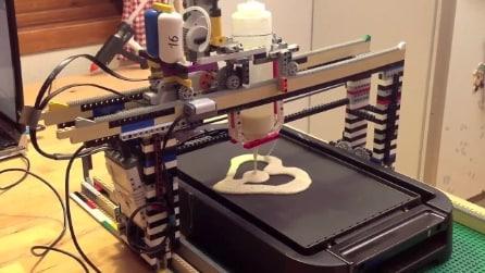 La stampante 3D per realizzare pancake dalle forme originali