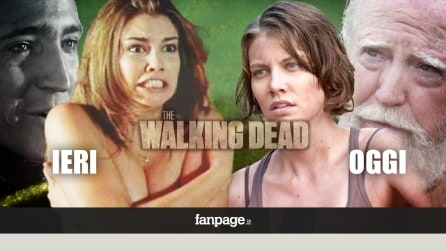 The Walking Dead: i protagonisti ieri e oggi