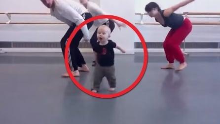 Appena 14 mesi, è il coreografo più piccolo della storia