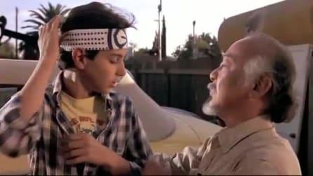 "Karate Kid: ""Dai la cera, togli la cera"""