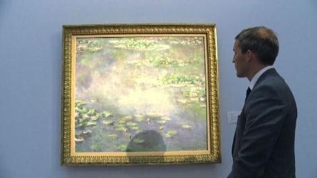 """Le Ninfee"" di Monet venduto all'asta da Sotheby's a quasi 40 milioni di euro"