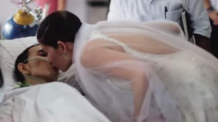 Malato terminale di cancro ha un solo desiderio: sposare la donna che ama