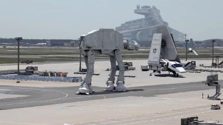 Star Wars all'aeroporto di Francoforte, il fake diventa virale