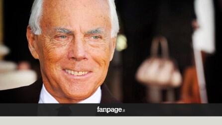 """Armani compie 80 anni: buon compleanno """"King George"""""""