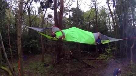 Tentsile Stingray, la tenda sospesa sulla bellezza del mondo