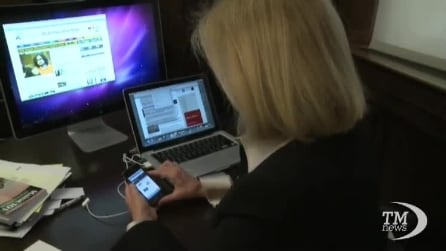 Gli italiani preferiscono l'internet mobile ai pc
