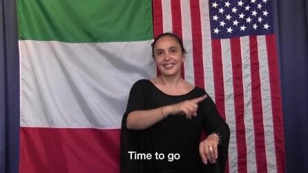 Come imparare la gestualità italiana, il rap del Consolato Usa di Milano