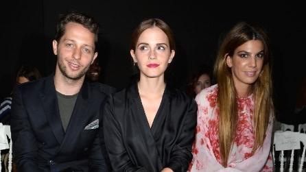 Emma Watson da Giambattista Valli: glamour e raffinatezza