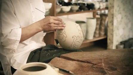 L'arte di forgiare e dipingere: ecco come lavora un artista artigiano
