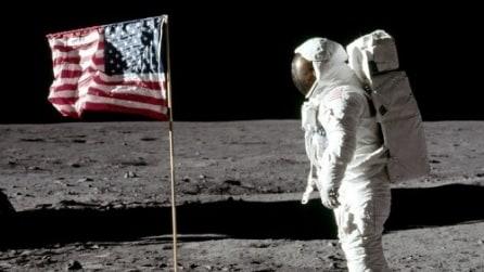 45 anni fa il primo uomo sulla Luna