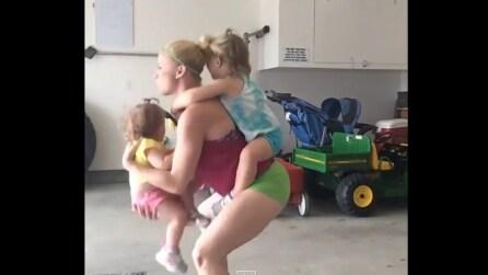 Ecco come una mamma può tenersi in forma