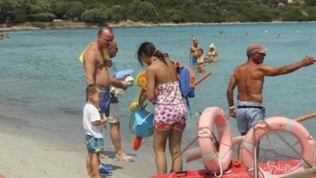 Vacanze in Sardegna per Gigi D'Alessio e Anna Tatangelo