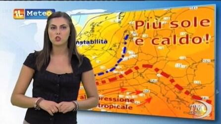 Luglio- Agosto: le previsioni meteo nei prossimi 7 giorni