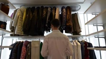 L'armadio automatizzato di Metalprogetti: vestirsi gudagnando tempo e spazio