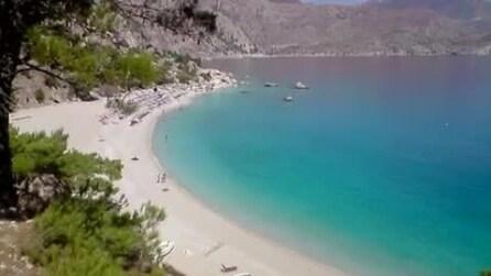 La spiaggia più bella della Grecia