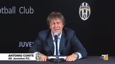 Antonio Conte imitato da Crozza per Italialand
