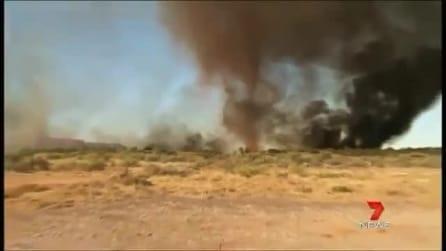 Tornado di fuoco in Australia