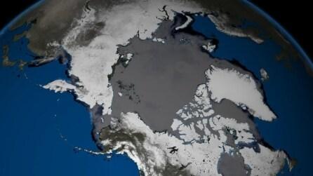 Lo scioglimento dei ghiacciai artici
