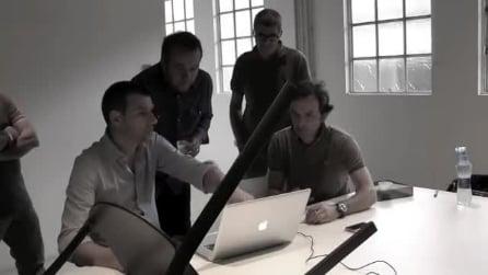 Patrick Norguet presenta la Compas chair
