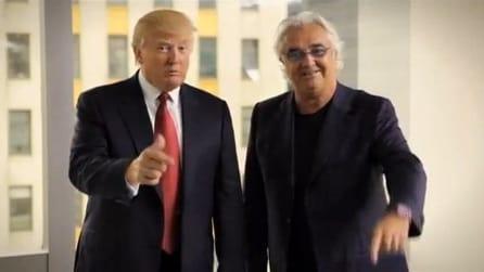 L'incontro tra Flavio Briatore e Donald Trump