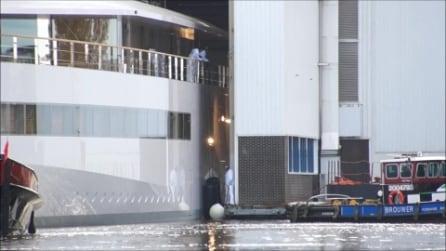 Il varo di Venus, lo yacht pensato da Steve Jobs