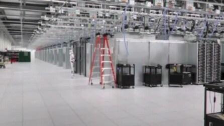 Soldato di Guerre Stellari nel Datacenter di Google