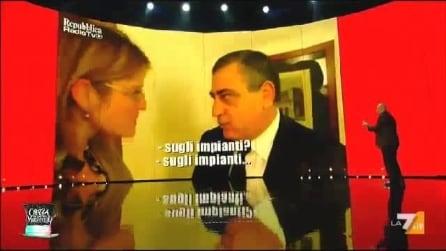 """Maurizio Crozza su Luigi Cesaro detto """"giggino 'a purpetta"""""""