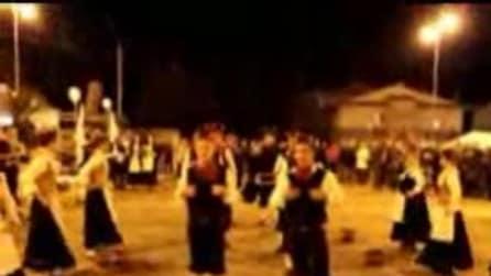 Festa dei cornuti a Ruviano, in provincia di Caserta