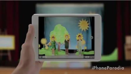 iPhoneParodia - iPad Mini Glande