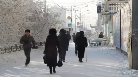 Yakutsk, la città più fredda del mondo