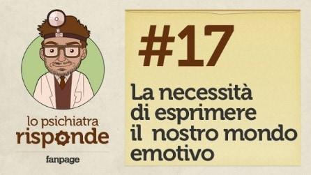 La necessità di esprimere il nostro mondo emotivo #17