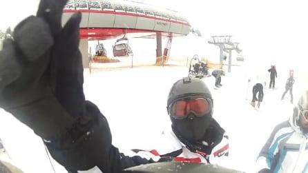 Sciare a Canazei