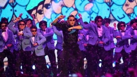 MTV EMA 2012 - L'esibizione live di Psy e del Gangnam Style