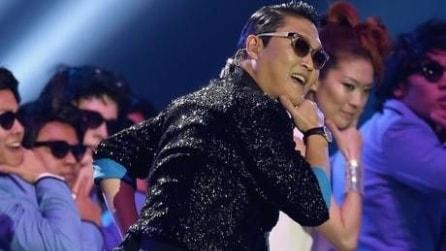 AMA 2012: PSY e MC HAMMER in Gangnam Style