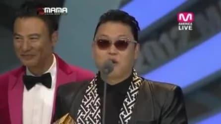 """PSY vince la miglior performance al MAMA 2012 con il singolo """"Gangnam Style'"""""""