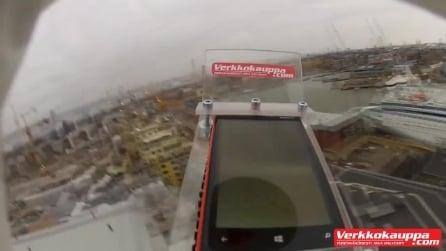 Nokia Lumia 920 lanciato nella stratosfera