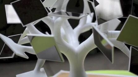 Electree+, il bonsai caricabatterie ad energia solare