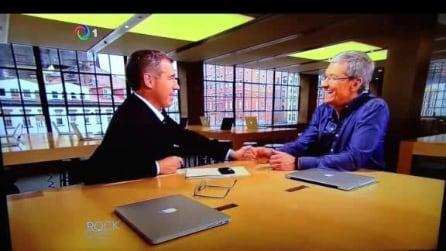 NBC intervista Tim Cook Parte 1
