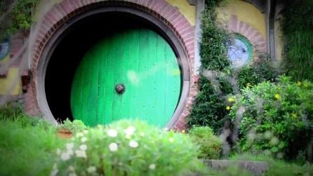 Una visita al villaggio di Hobbiton