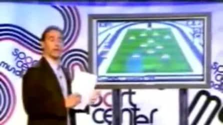 Il presentatore che sviene in diretta