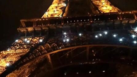 La Torre Eiffel a capodanno