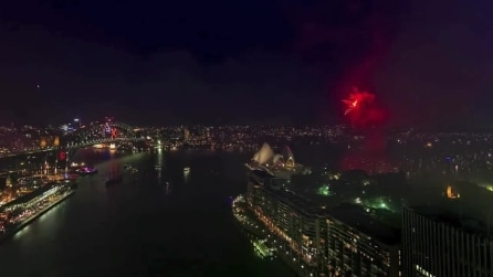 I grandiosi festeggiamenti di capodanno di Sydney