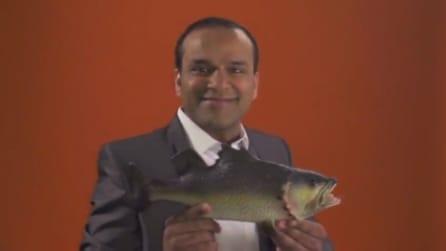 One pound fish man al Queens Market di Londra: il ritornello diventa hit