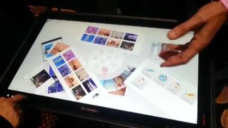 Lenovo presenta un tablet da 27''