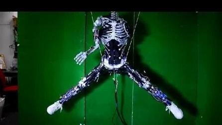 Il robot con i muscoli