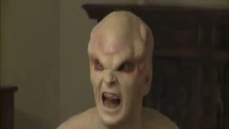 La bambina viene rapita dagli alieni (candid camera)