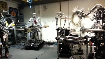 L'imbattibile band di robot