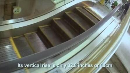 Le scale mobili più corte del mondo